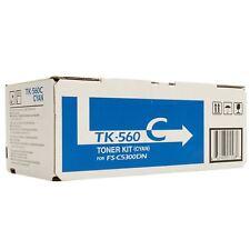 ORIGINAL Kyocera Cartouche d'encre TK560C TK-560C Cyan 12.000 pages FS-C5300DN