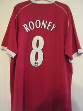 Manchester United 2006-2007 Rooney Home Football Shirt Size XXL /35052