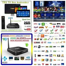 4K Arabic English Sports Turkish WI-FI TV Box Android Channels MBC Sports