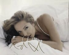 Angeline Jolie Signed Wanted Photo 11x14