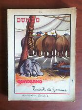 Quaderno originale anni '50 Dumbo Walt Disney - E14694