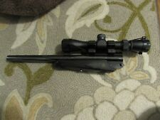 Thompson Center Contender Super 14 30-30 barrel with scope and forearm