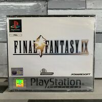 Final Fantasy IX 9 Sony Playstation 1 PS1 PAL UK Platinum New Sealed Classic
