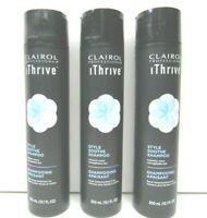 3 Clairol Professional iThrive Style Soothe Shampoo Manageable Hair Styling NEW