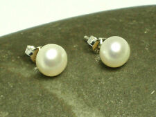 PEARL  Sterling  Silver  925   Earrings /  STUDS  -  Gift  Boxed