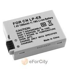 LP-E8 LPE8 Battery Canon EOS Digital Rebel T3i T4i Kiss X4 X5 X6i Camera 1500mah