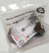 S&S Precision Manta Strobe Webbing Adapter MWA-0001 PALS/MOLLE