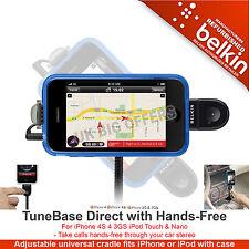 Belkin TuneBase diretta con VIVAVOCE per iPhone 4S 4 3GS iPod Touch & Nano