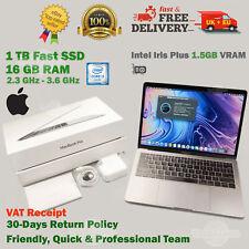 """READ!!👇 MacBook PRO 13.3"""" Retina 1TB SSD 16GB RAM 2.3GHz Intel i5 Apple Laptop"""