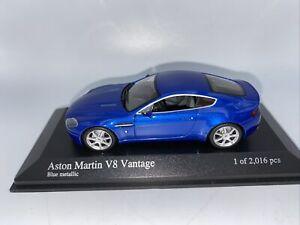 1/43 Minichamps 2005 Aston Martin Vantage Blue Part # 400137422