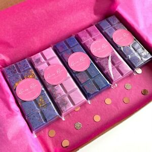WAX MELTS SOY PERFUME INSPIRED SNAP BAR HIGHLY SCENTED BUNDLE PACK VEGAN