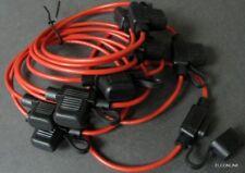 FH516 #EWgtn Car Audio Inline AWG16 Mini Blade Fuse Holder Wire x10 Pcs / Lot