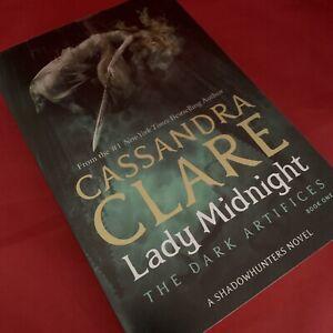 Lady Midnight (Dark Artifices, Book One) Cassandra Clare - Signed PB - BRAND NEW