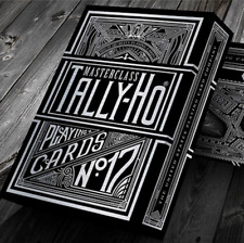 Tally-Ho Masterclass (Black) Playing Cards