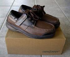 New! Orthofeet 422 Baton Rouge Brown Black Men's Shoes 9 M...Diabetic Orthotic