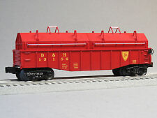 LIONEL D&H GONDOLA REMOVABLE COIL COVERS o gauge train freight car 6-81261 NEW