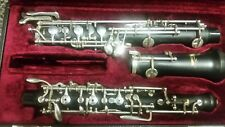 Yamaha YOB421 semi-pro wood oboe w/ 3rd octave key, left-F, low Bb, and more!