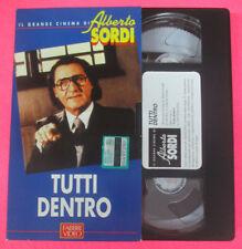 VHS film TUTTI DENTRO Joe Pesci Il grande cinema di ALBERTO SORDI (F107) no dvd