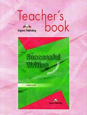 Express SUCCESSFUL WRITING UPPER-INTERMEDIATE Teacher's Book Virginia Evans @NEW