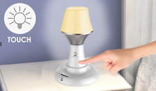 LED Bright Compact Touch Dimmable Table Lamp Light - Rechargeable USB