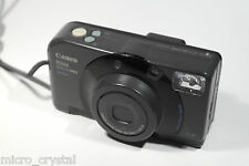 Vintage Canon PRIMA ZOOM MINI 38-76mm point&shoot camera camara TESTED + pouch