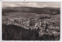 Ansichtskarte Neustadt im Schwarzwald - Ortsansicht/Ortspanorama - schwarz/weiß