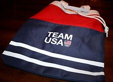Team USA Olympic canvas backpack / shoulder bag NWT Airport carry-on Americana