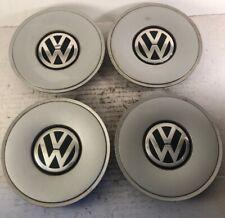 98-01 VW Passat B5 Wheel Center Caps Set of 4 OEM 15 in 3B0 601 149