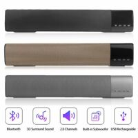 TV Home Theater Soundbar bluetooth Sound Bar 10W Speaker Built-in Subwoofer WW
