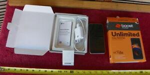 LG Tribute Empire - White - 16GB (Boost Mobile) Brand New Open Box gift
