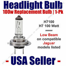 Headlight Bulb Low Beam 100 Watt Upgrade 1pk - Fits Listed Jaguar Models H7 100