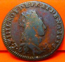 FRANCIA, 1 LIARD, 1656. LUIS XIV. FRANCIA Y NAVARRA. COBRE.  (433)