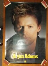 """Bryan Adams US promo poster 1 sided VG+ Condition 24"""" x 36"""" A&M Records D"""