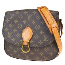 Auth LOUIS VUITTON Saint Cloud GM Shoulder Bag Monogram Brown M51242 80BP237