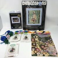 Dimensions Gold Collection Workbench DMC Friendship Thread Crewel & Cross Stitch