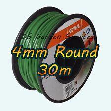 30m of STIHL 4mm ROUND Brushcutter DR Cobra Hayter Trimmer Wheeled Strimmer Line