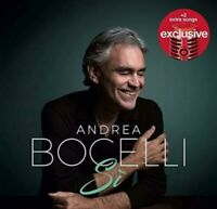 🍎 Andrea Bocelli: Si Deluxe Edition w/ 18 tracks Audio CD (2018, Ships)NEW Seal