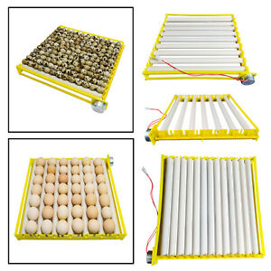 Egg Incubator Tray 360° Rotary Automatic Egg Turner Duck Goose Pigeon Quail