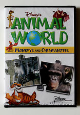 Disney's Animal World Monkeys and Chimpanzees Children's Nature Educational DVD