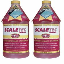 EasyCare Scaletec Plus Descaler and Stain Remover 64 oz 20064 2 Pack