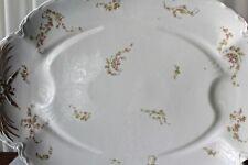 Vintage Large White Platter Haviland & Co Limoges Porcelain