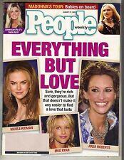 Nicole Kidman Meg Ryan Julia Roberts Personas Revista 8/01 Tara Reid Madonna Pc