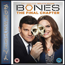BONES - COMPLETE SEASON 12 - FINAL CHAPTER *** BRAND NEW DVD*