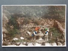 Isle of Wight: The Gnomes Garden at Blackgang Chine - Old RP Postcard