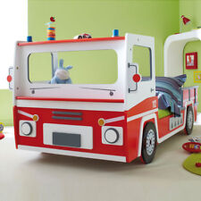 Kinderbett Feuerwehrauto Autobett SOS Feuerwehrbett Kinderzimmer Spielbett