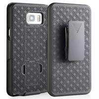 SAMSUNG GALAXY NOTE 7 FE - SHELL CASE COMBO BELT CLIP HOLSTER COVER KICKSTAND