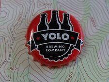 BEER Bottle Cap ~*~ YOLO Brewing Company ~*~ West Sacramento, CALIFORNIA Brewery