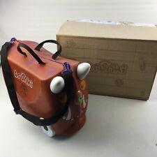 Gruffalo Trunki Ride-on Suitcase Brown Kids Fun Luggage Lightweight Durable Play