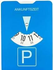 Parkuhr Parkscheibe Benzinrechner 15 cm + Schutzhülle und StVO Zulassung