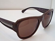 Authentic CHANEL 5310 c.1276/S7 Brown Silver Brown Solid Lens Sunglasses $400